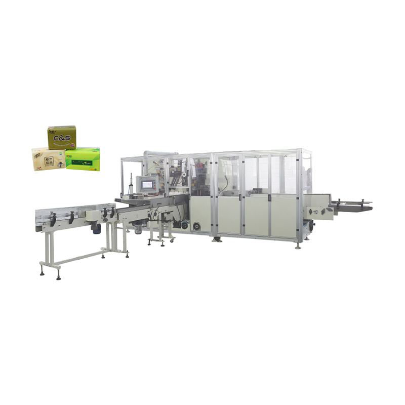 OK-602W Type Rotating Disk Type Facial Tissue High-speed Packing Machine