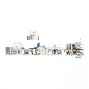 OK-120 Type High Speed Square Tissue Production Line