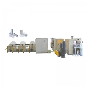 OK-200 Type Full-Auto Toilet Tissue, Kitchen Towel Rewinder Production Line
