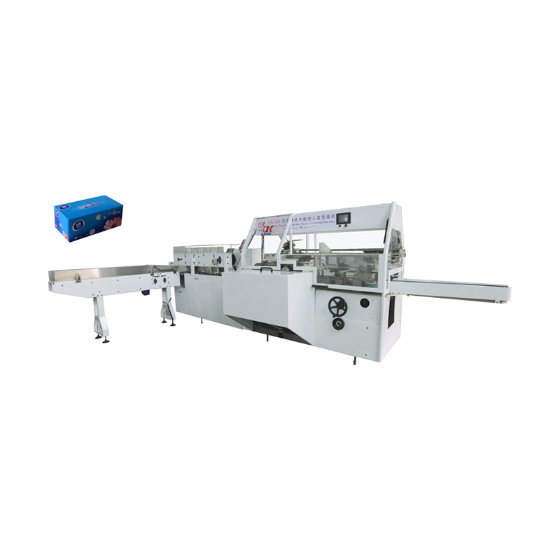 OK-220 Type Full-Auto Box Tissue Cartoning Machine