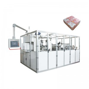 OK-908 Type Toilet Tissue Big Bag Bundler Packing Machine