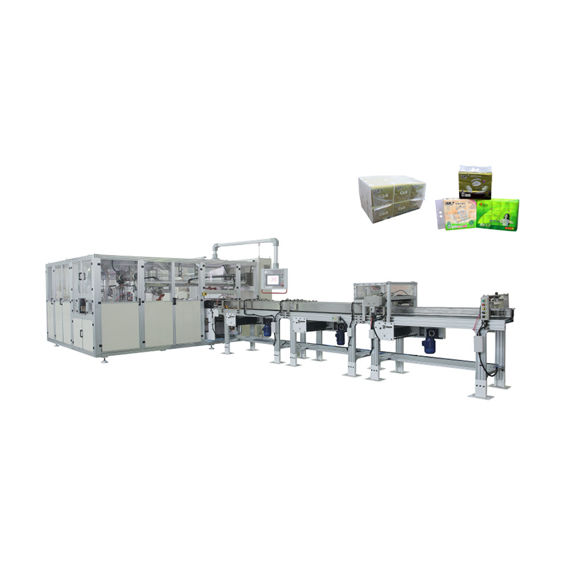 OK-902D Type Facial Tissue Bundling Packing Machine Featured Image