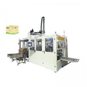 Wholesale Price Facial Tissue V Type Folding Machine With Full Embossing - OK-102B Suction Type Case Packer – OK