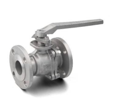 Description and analysis of manual floating ball valve