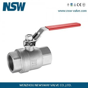2 pcs threaded ball valve