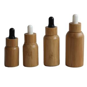 Bamboo material essential oil bottle