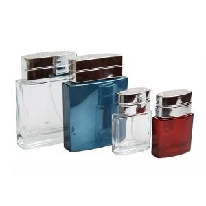 Hot selling perfume bottles with cap and pump