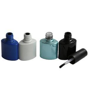 Colorful classical nail polish bottle