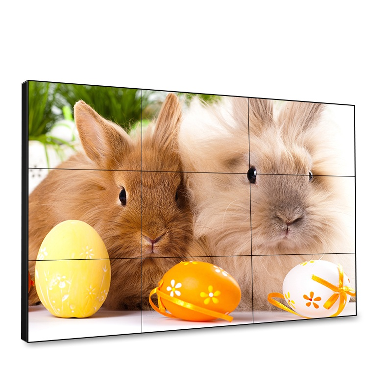 Transparent video walls LCD high brightness computer monitors for indoor and outdoor
