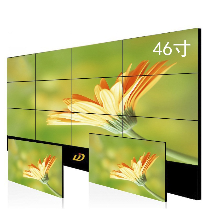 1.7mm Seamless Ultra Narrow Bezel Panel Wide Screen LED Backlight LCD Video Wall with Controller for Advertising Display
