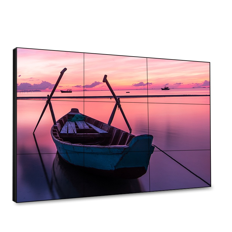 High Performance Full HD 1920*1080 Advertising Display Screen Monitor Ultra-Thin Video Wall With Split Screen
