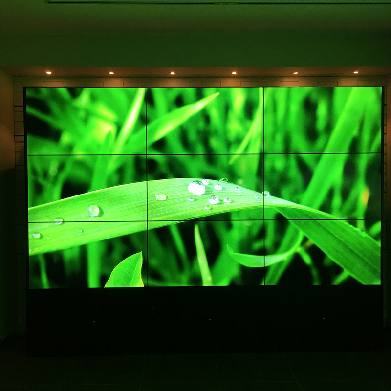 Ultra-thin Bezels and Cost-effective Display Video Wall monitor digital signage