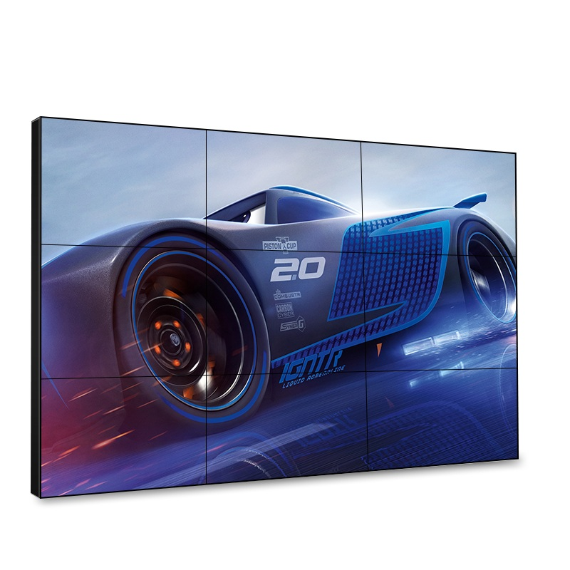 UHD Video Wall Controller Ultra Narrow Bezel LCD Monitor DID Video Wall,  LCD Commercial Digital Advertising Display