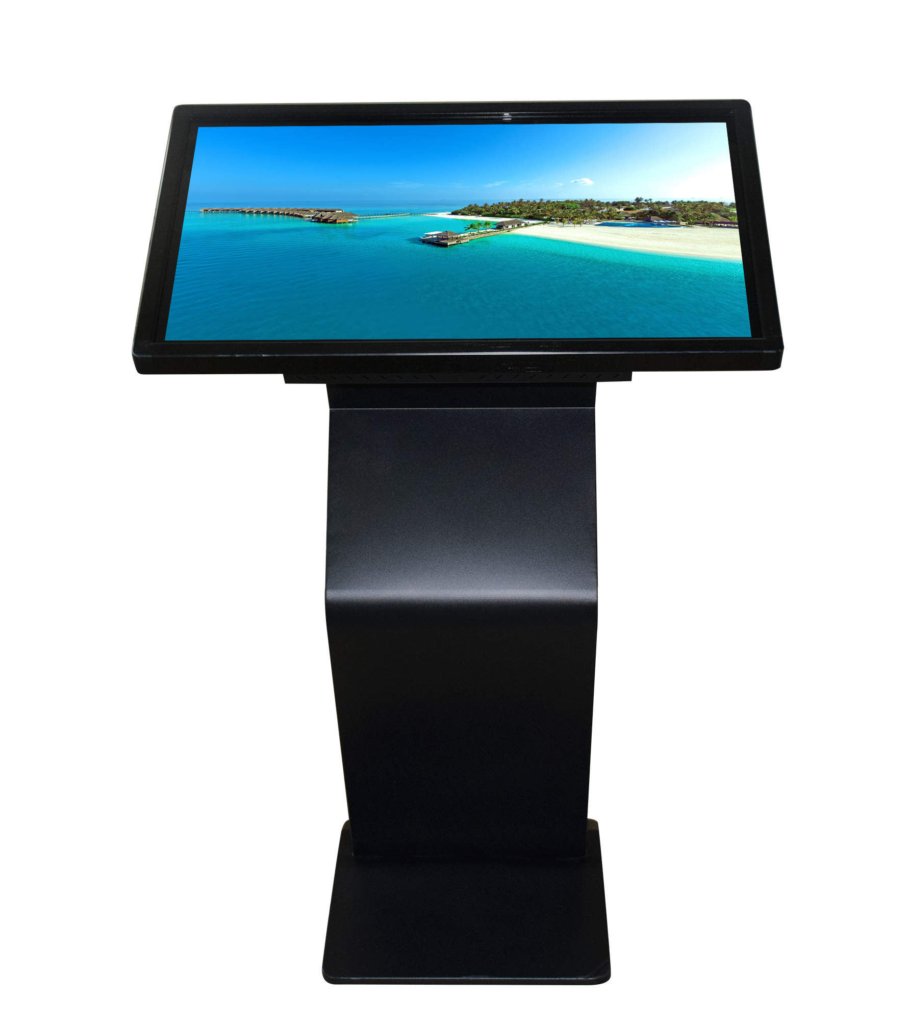 Commercial Interactive Display Retail Kiosk 350 Nits with Integrated Media Player