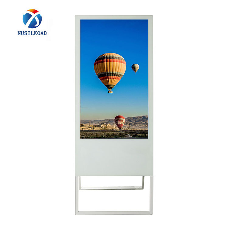 Portable digital signage, flexible folding android advertising poster
