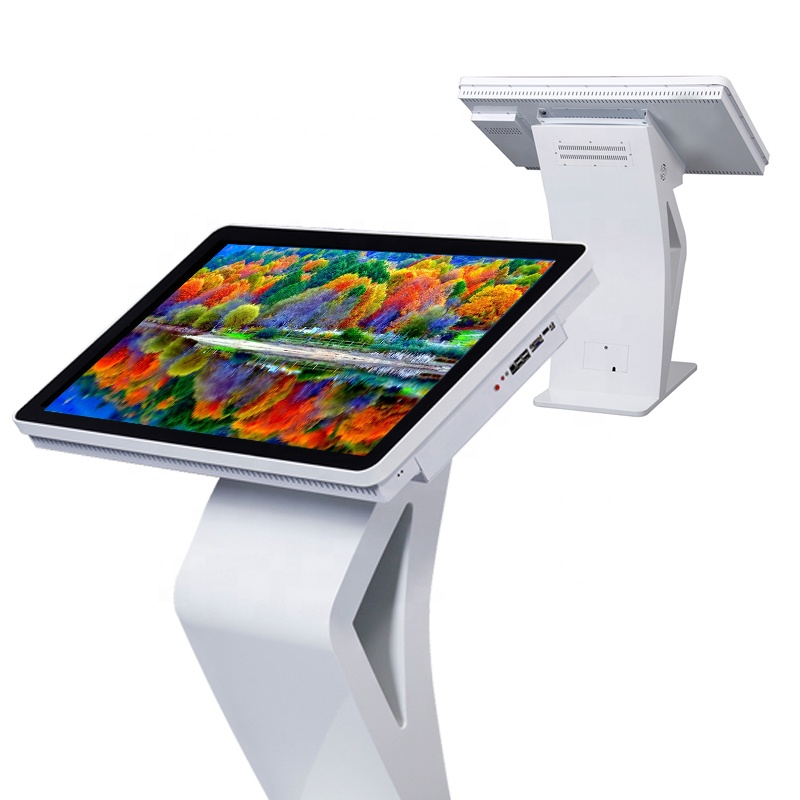 55 inch custom made computer stand up touch screen all-ine-one kiosk digital signage, Windows 10/Android for option