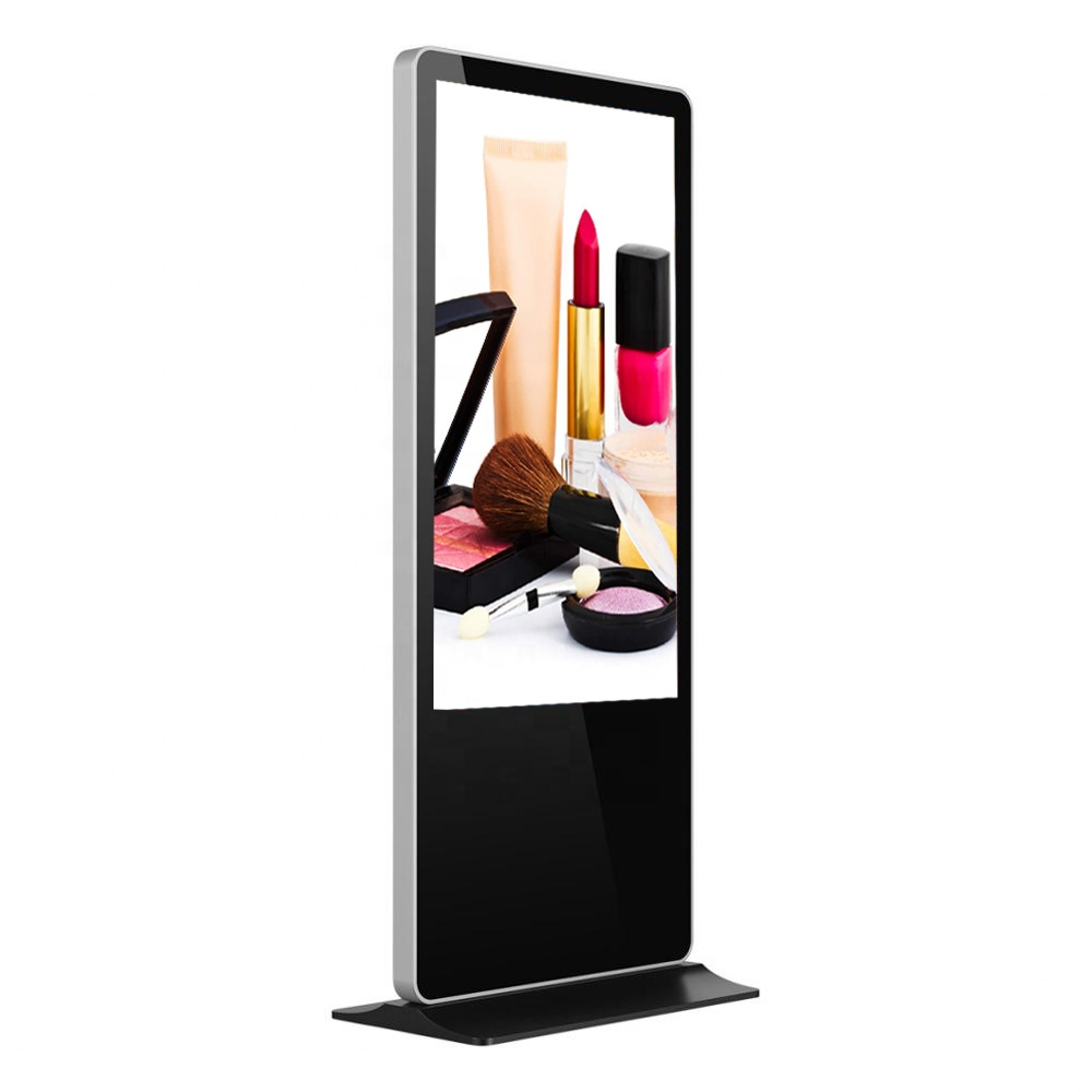 43 inch 3G/4G/5G digital signage LCD advertising player, interactive kiosk totem