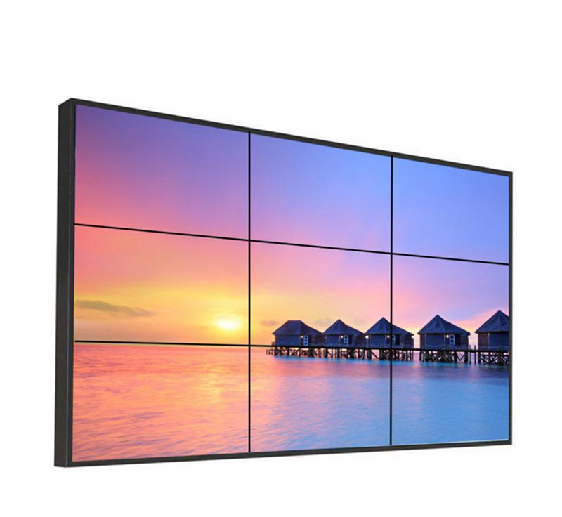 Flat Screen TV LED/LCD Video Wall Panel with wall processor for digital signage