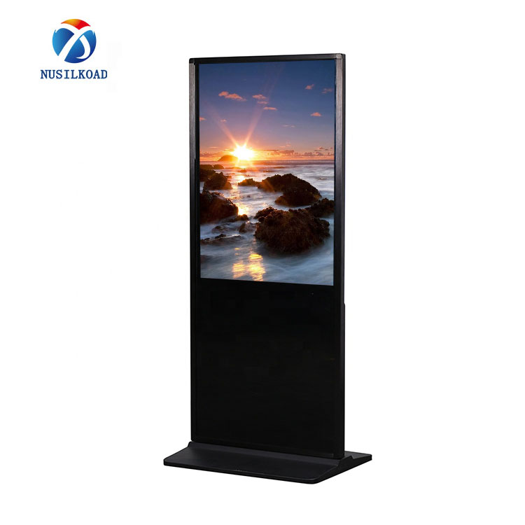 2020 High quality Totem Screens - floor stand touch screen kiosk digital signage display wifi totem – Nusilkoad