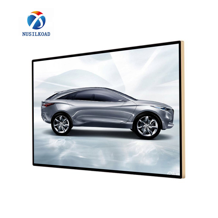 75 inch WALL mount video display for advertising