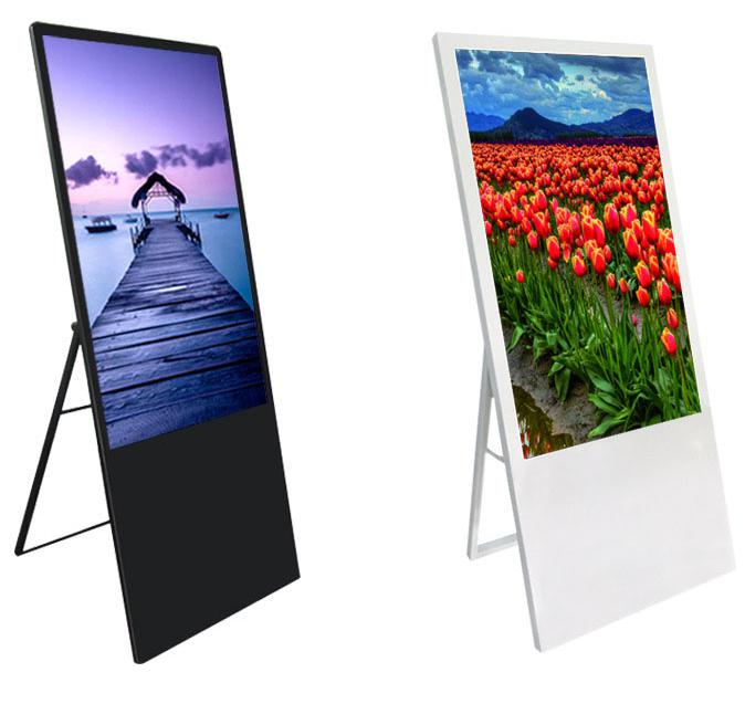 43 inch selfie mirror poster display portable digital signage display
