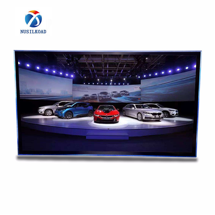 270degree 3d hologram advertisement pyramid holographic display with 49 inch lcd