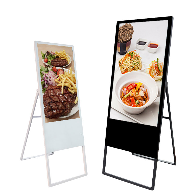 43 inch selfie mirror poster display portable digital signage player