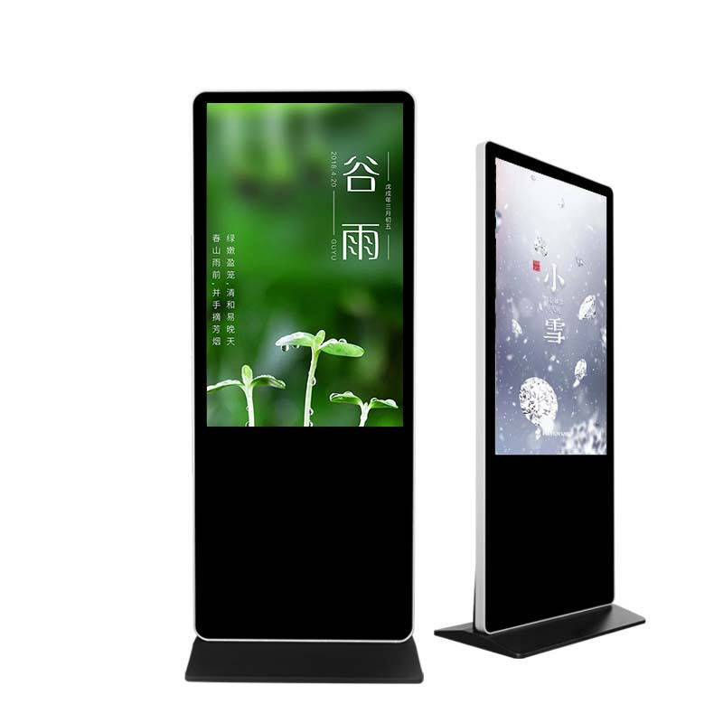 65 inch Lcd Monitor touch Screen for exclusive launch advertising  video