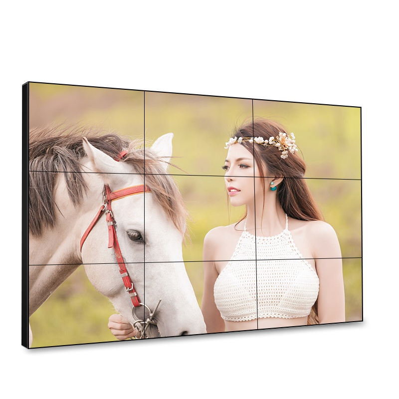 5.3mm Slim Bezel LCD Video Wall Screens with 4*4 Large Display Solution