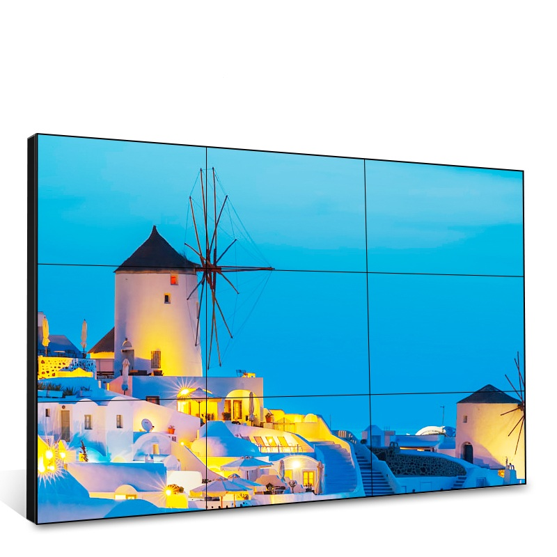 43 inch LG/ Samsung Video Wall Ultra Narrow Bezel 3.5 mm LCD Screen Advertising Display