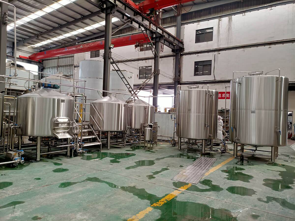 Brewing equipment for 3000 liters per day in Uzbekistan