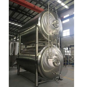 Horizontal Bright Beer Tank