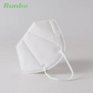 Personal Protective KN95 Mask GB2626 Foldable Air Breather Disposable kn95 Face Mask with Air Value