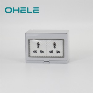 2 Gang Multi-function Socket