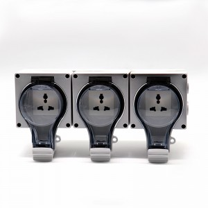 3 Gang Multi-function Socket