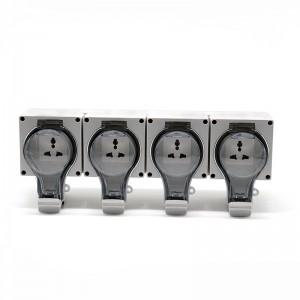 4 Gang Multi-function Socket