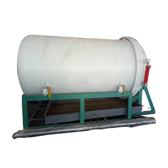 Horizontal Leaf Filter for Oil