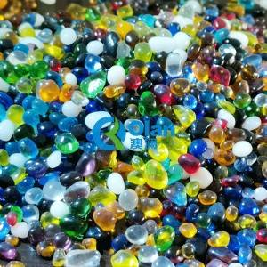 Color Glass Beads 3-6mm