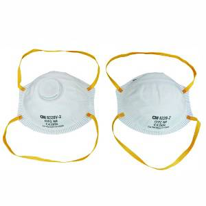 FFP2 dust face mask with CE ISO FDA