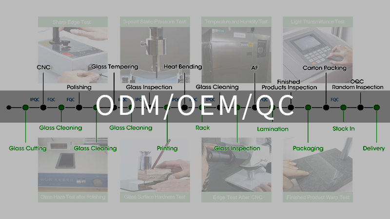 100% full inspection, and complete TQM system to guarantee the quality of each procedure