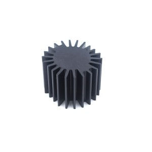 Black anodized 6061-T6 aluminum alloy CNC machining parts