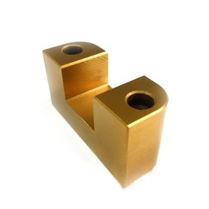 Custom polished brass milling parts machining accessories