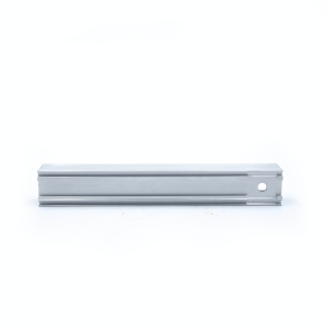 Polished aluminum alloy door and window processing parts