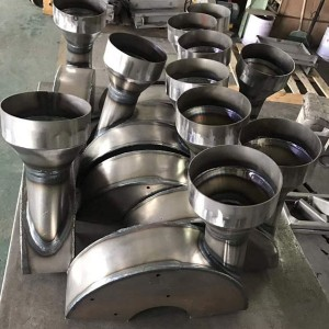 Sheet metal parts welding