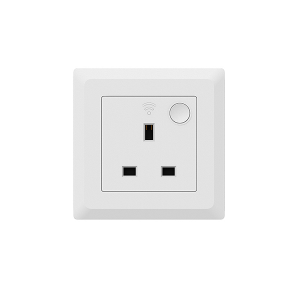 One of Hottest for Iot Odm - ZigBee Wall Socket (UK/Switch/E-Meter)WSP406 – Owon