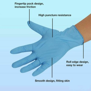 Disposable Non-sterile Powder-free Gloves