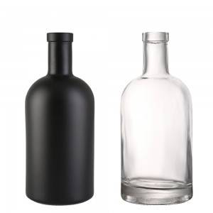 750 ml Clear Glass Aspect Liquor Bottles