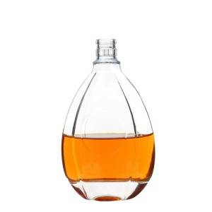 500ml Clear Liquor Glass Bottles