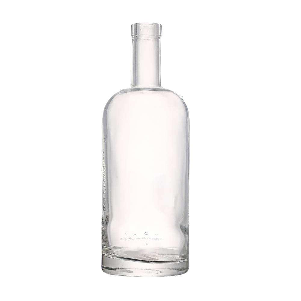 custom 700 ml round shape liquor bottle Featured Image