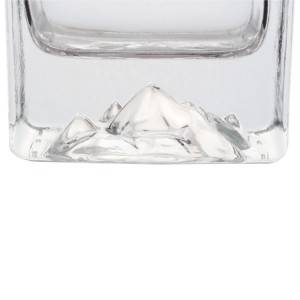 250ml ice berg shape  liquor glass bottles